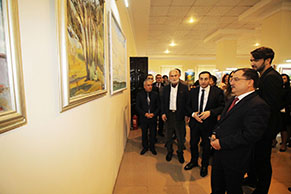 "Exhibition of works by leading Azerbaijani artists entitled ""New horizons"" in Gazak"